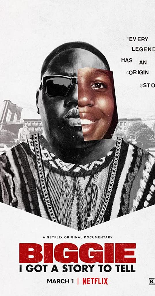 Biggie: I Got a Story to Tell Film Movie Poster: PC. Netflix
