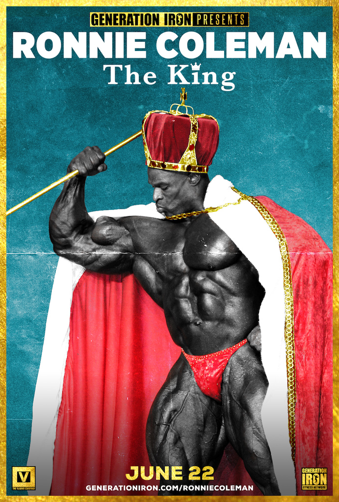 Ronnie Coleman: The King. PC: Generation Iron