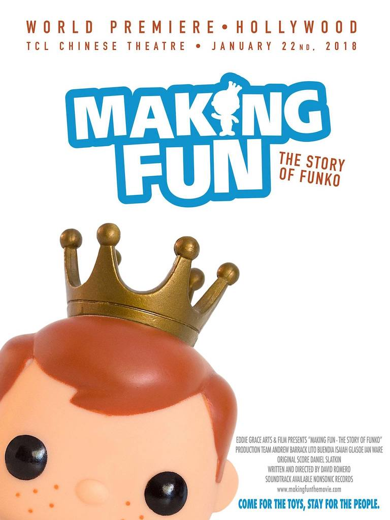 Making Fun:The Story of Funko Film Movie Poster. PC: Funko