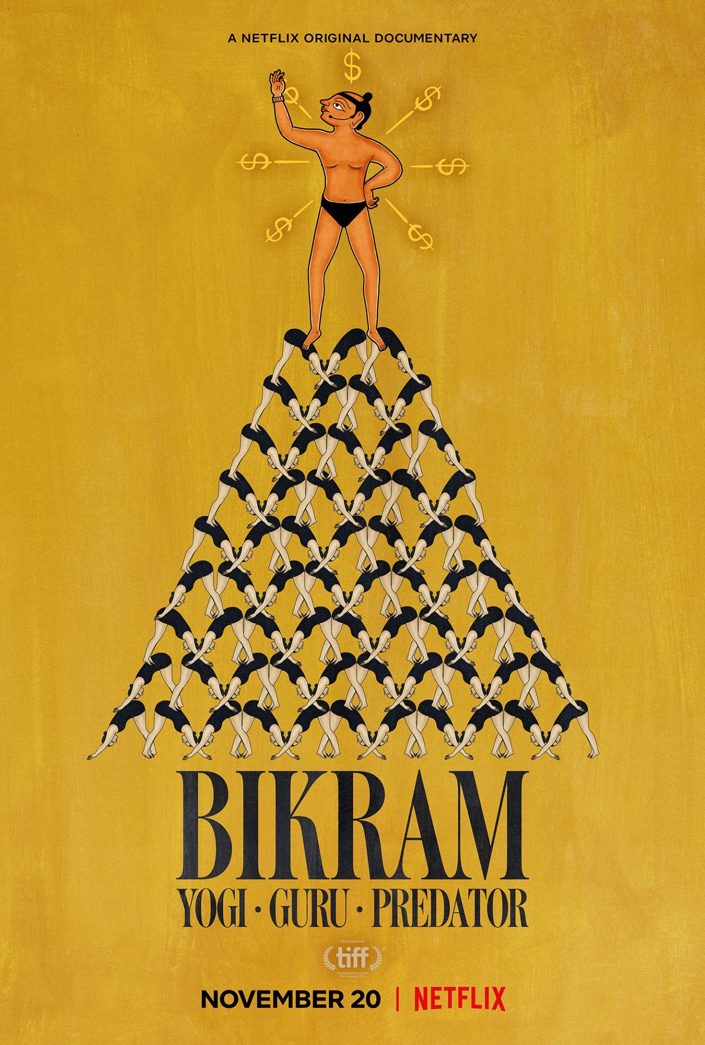Bikram: Yogi, Guru, Predator Film Poster