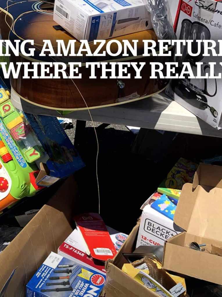 Tracking Amazon Returns