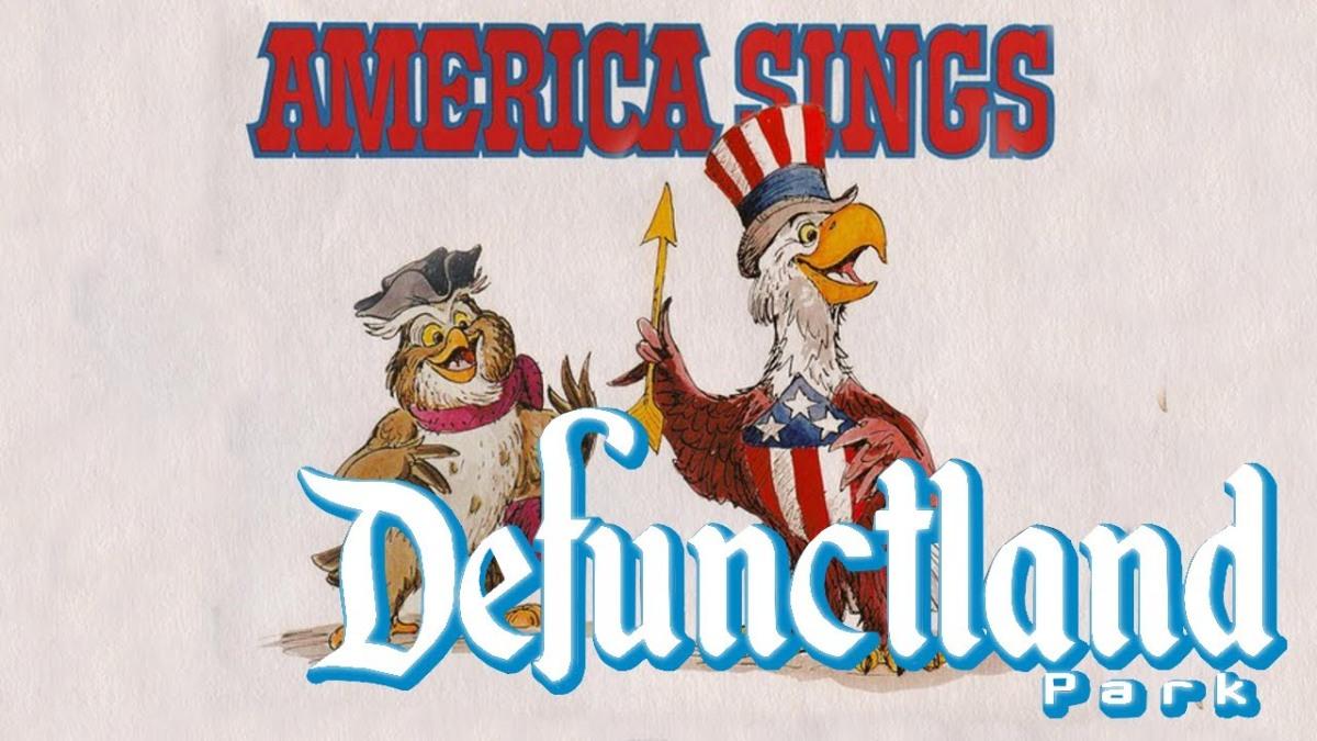 The History of Disneyland's America Sings
