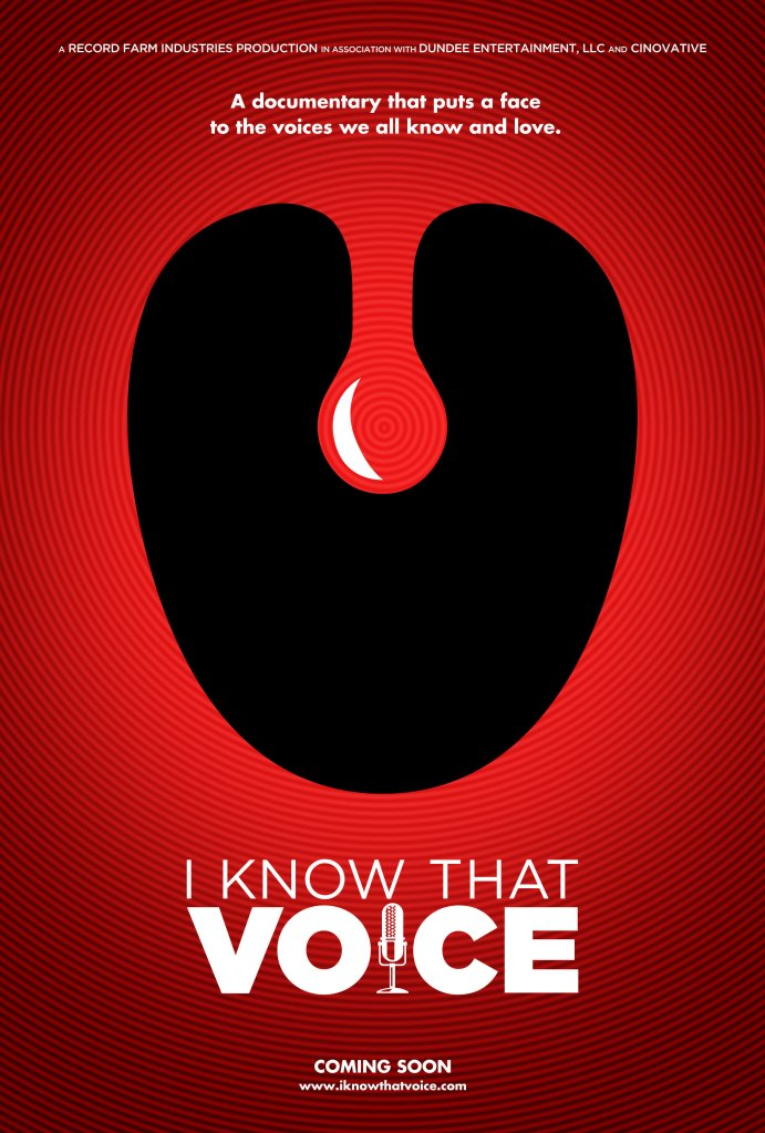 I Know That Voice Film Poster
