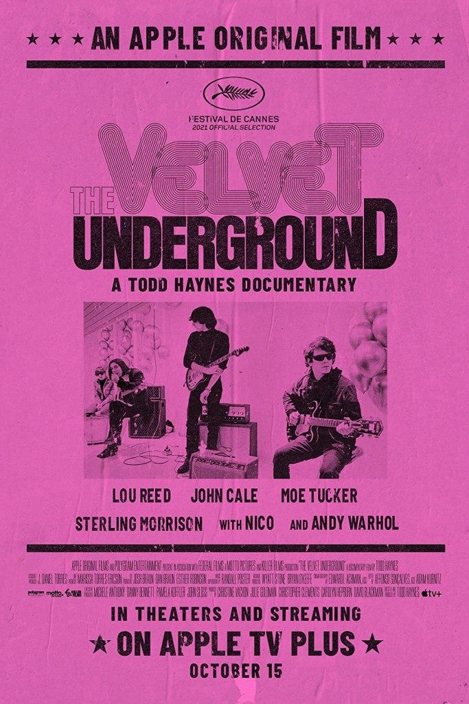 The Velvet Underground Coming October 15.